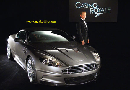 Bond's New Aston Martin